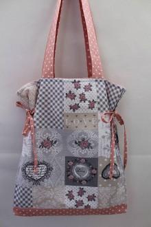 Veľké tašky - Taška-romantik - 9325667_