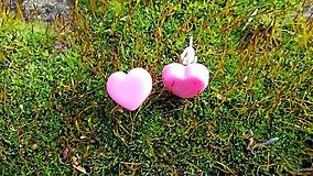 Náušnice - Náušnice Hearts - 9327385_