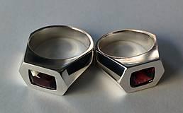 Prstene - Snubní prsteny 925/1000 - 9325880_