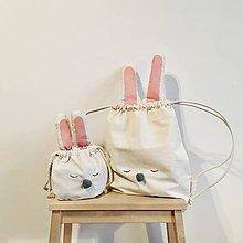 Batohy - Ušimi ruksačik zajačik - 9325199_