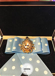 Odznaky/Brošne - Hand Made mašľa, bow - 9324742_