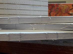 Polotovary - Knižný blok na výrobu zápisníka - 9325293_