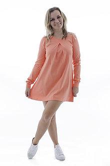 Šaty - Marhuľové šaty - 9324337_