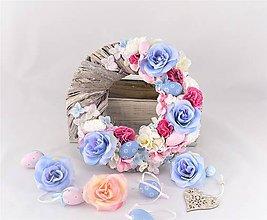 Dekorácie - Modrá ruža - 9325790_
