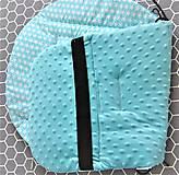Textil - Podložka do kočíka s minky - 9328883_