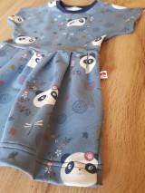 Detské oblečenie - Šaty panda - 9330253_