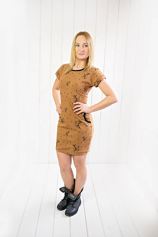 Šaty - Líšky v karamele - 9330390_