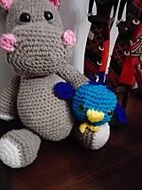 Hračky - Hrošica Angela s kamarátom vtáčikom Pippom - 9332456_