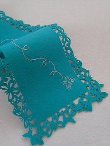 Úžitkový textil - Ľahkosť bytia (štóla na stôl) - 9328723_