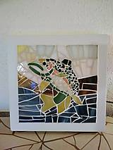Svietidlá a sviečky - Mozaiková lampa / panel FISH - 9332753_