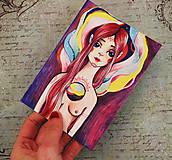 Papiernictvo - Mystická bytosť/ pohľadnica - 9331400_