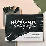 Návody a literatúra - Moderná kaligrafia - pracovný zošit - 9328935_