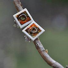 Náušnice - Náušnice Klipsne kovový efekt - 9330807_