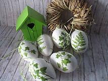 Dekorácie - Veľkonočné vajíčka - 9330590_