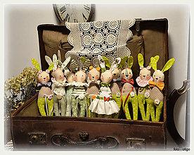 Bábiky - Aj zajace bývajú v starom kufri - 9331022_