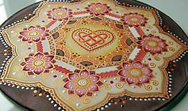 Dekorácie - Mandala...šťastie v láske - 9329039_