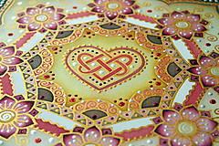 Dekorácie - Mandala...šťastie v láske - 9329040_