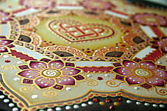 Dekorácie - Mandala...šťastie v láske - 9329041_