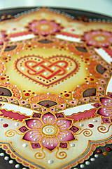 Dekorácie - Mandala...šťastie v láske - 9329042_