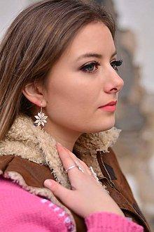 Sady šperkov - Set strieborná Hviezda - plná - 9330399_