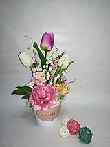 Dekorácie - Rozkvitnuté tulipány - 9332511_