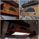 Svietidlá a sviečky - Chalupársky luster drevené koryto - 9331292_