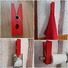Dekorácie - Štipec na prádlo & MEGA - 9328960_