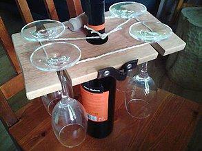 Iné - drziak na vinove pohare markolio - 9332496_