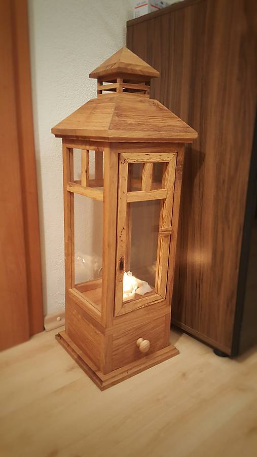 Lampáš z dubového dreva HANDMADE   Lionwood - SAShE.sk - Handmade ... ff5d9ef44a8