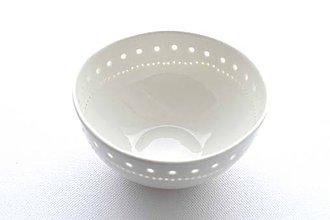Nádoby - Madeirová porcelánová miska (Jemnosť) - 9328856_