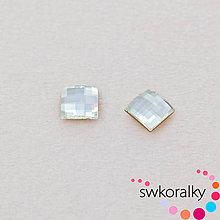 Korálky - CHESSBOARD 10 SWAROVSKI ® ELEMENTS 2493 crystal foiled - 9330578_