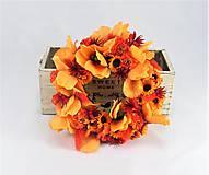 Dekorácie - Oranžová jeseň - 9329814_