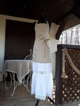 Iné oblečenie - Zásterka zo Zeleného domu Natur - 9332085_