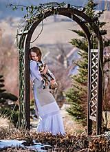 Iné oblečenie - Zásterka zo Zeleného domu Natur - 9332089_