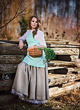 Iné oblečenie - Zásterka zo Zeleného domu Mint - 9332175_