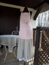 Iné oblečenie - Zásterka zo Zeleného domu Ružová - 9332211_