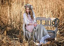 Iné oblečenie - Zásterka zo Zeleného domu Ružová - 9332215_