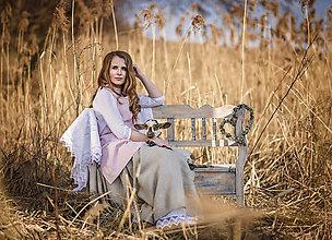 Iné oblečenie - Zásterka zo Zeleného domu Ružová - 9332216_