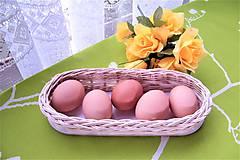 Košíky - Košík z pedigu na vajíčka-oválny - 9328644_