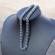 Náhrdelníky - Ovec - náhrdelník (šedý) - 9333194_