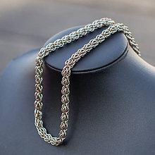 Náhrdelníky - Ovec - náhrdelník (béžový) - 9333198_