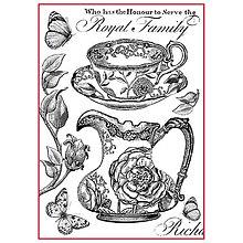 Papier - Ryžový papier, Stamperia, DFSA4301 - 9335104_