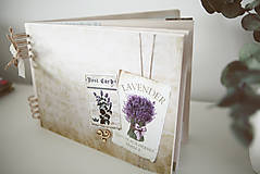Papiernictvo - Kniha hostí / album / herbár - 9335914_