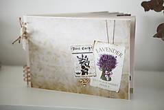 Papiernictvo - Kniha hostí / album / herbár - 9335915_