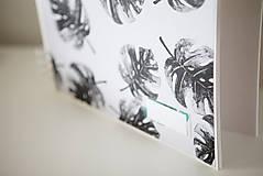 Papiernictvo - Kniha hostí / album / herbár - 9335939_