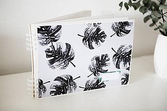 Papiernictvo - Kniha hostí / album / herbár - 9335940_