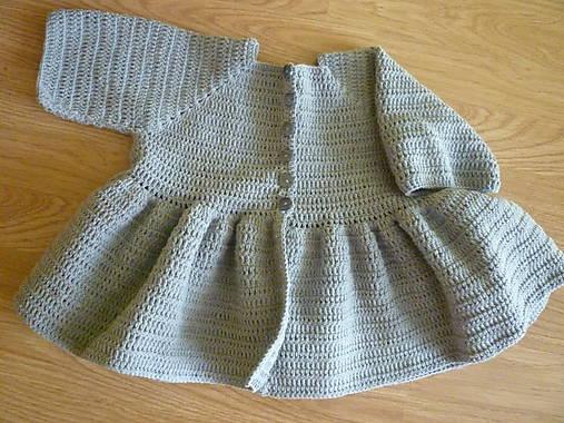 72165aa2d Háčkovaný svetrík / Adlin - SAShE.sk - Handmade Detské oblečenie