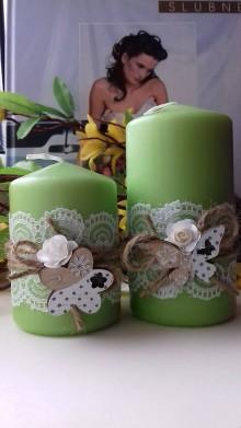 Svietidlá a sviečky - dekoračné sviečky ,, sada ,, - 9334031_