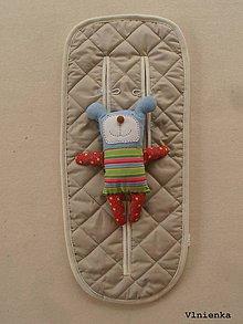 Textil - Podložka 3 v 1 do vaničky a športového kočíka Cam Dinamico 100% merino - 9333891_