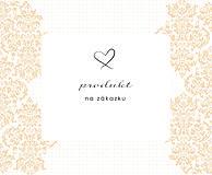 Darčeky pre svadobčanov - Tlač na zákazku A6 - 9333626_